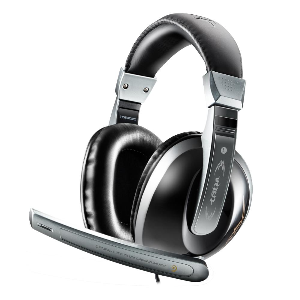 TCSTAR 電競頭戴式耳機麥克風TCE8020