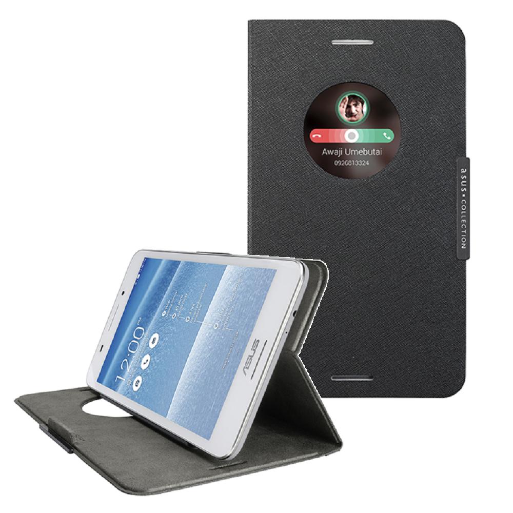 ASUS 原廠 Fonepad 7 FE375 智慧透視保護套 + 保護貼 組合