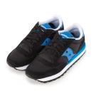 (女) 美國 SAUCONY 經典時尚休閒輕量慢跑球鞋-黑藍
