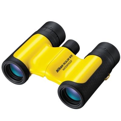 Nikon-ACULON-W10-8x21-隨身型防水望遠鏡-鮮豔黃-公司貨