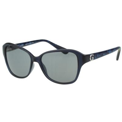 GUESS-時尚中性太陽眼鏡(藍色)