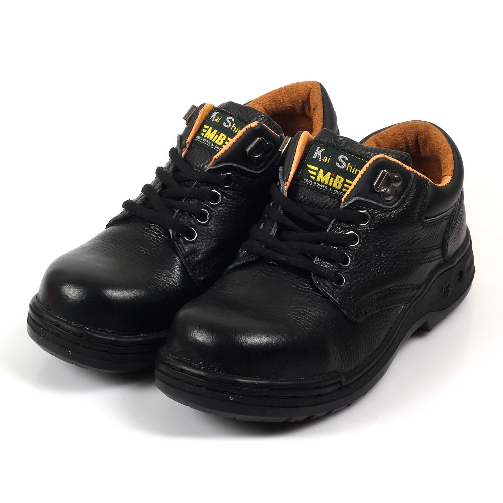 Kai Shin 鋼包頭 安全工作鞋 黑色 M-PLA574FG01