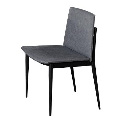 AT HOME-艾里斯黑腳布餐椅(兩色可選)