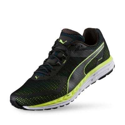PUMA Speed 500 IGNITE男性慢跑運動鞋-黑