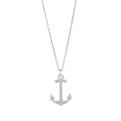 Kiel James Patrick HOPE NECKLACE 希望船錨銀色項鍊