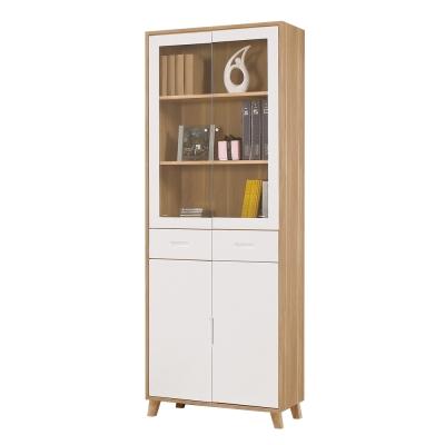 CASA卡莎 羅尼2.6尺中抽書櫥