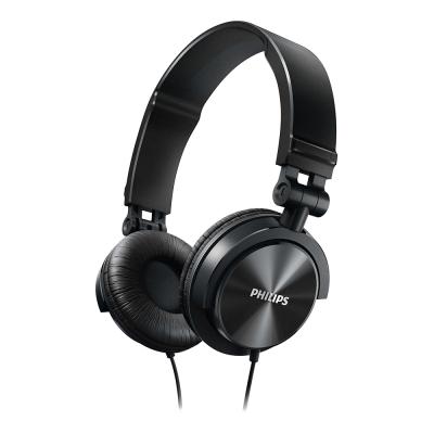 PHILIPS飛利浦 頭戴式耳機(黑) SHL3050BK