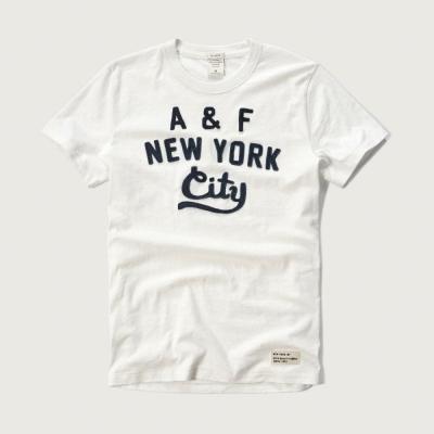 AF a&f Abercrombie & Fitch 短袖 T恤 白色 110