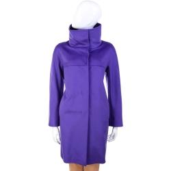MARELLA 立領造型大衣外套(紫色)