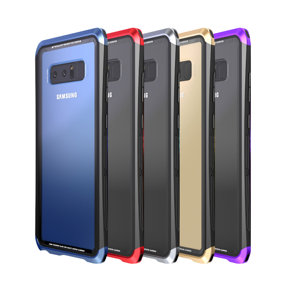 LUPHIE SAMSUNG Galaxy Note 8雙截龍保護殼