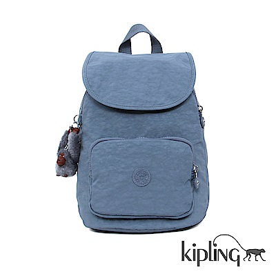 Kipling 後背包 紫羅蘭灰素面-大-AIR