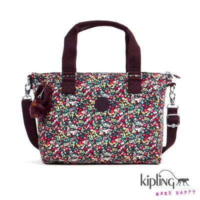 Kipling-手提包-田園小碎花