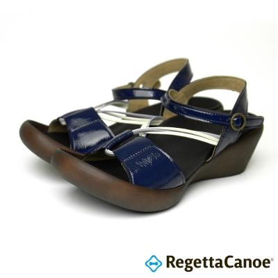 RegettaCanoe-CJLW-5520-優雅樂步休閒鞋-海軍藍