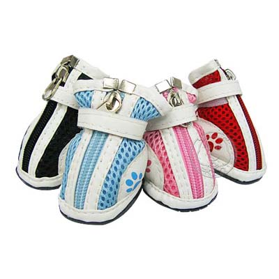 《PEPPETS》 三層防護寵物鞋(2)  4款顏色