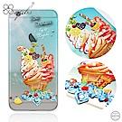 apbs iPhone6s/6 Plus 5.5吋 施華洛世奇彩鑽手機殼-冰淇淋去冰