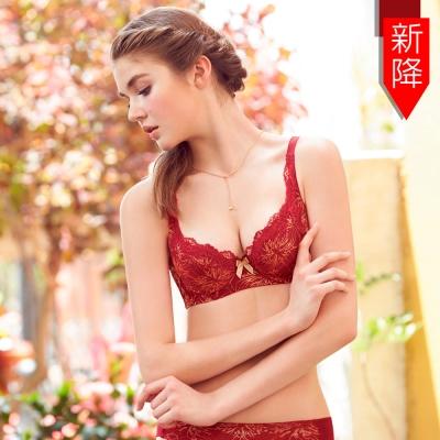 曼黛瑪璉-15秋冬經典二內衣 B-E罩杯(漸層紅)