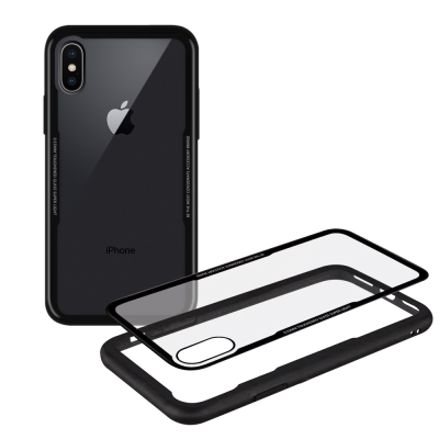 XM iPhone X 5.8吋 晶瑩王者鋼化玻璃手機殼