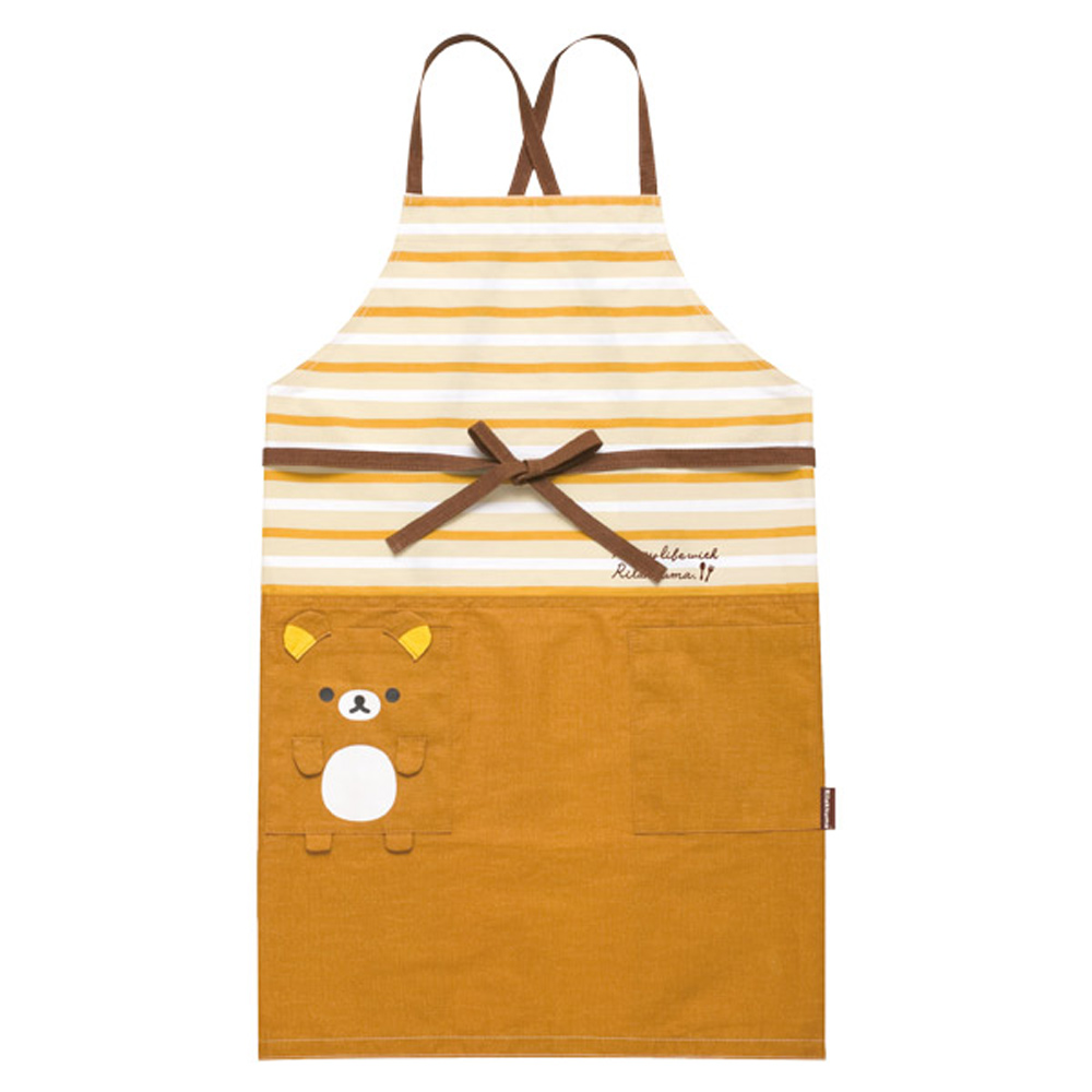 拉拉熊我愛生活系列圍裙 - 懶熊