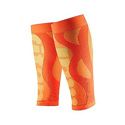 【Titan】太肯壓力小腿套__亮橘(適合慢跑、馬拉松、自行車、球類運動)