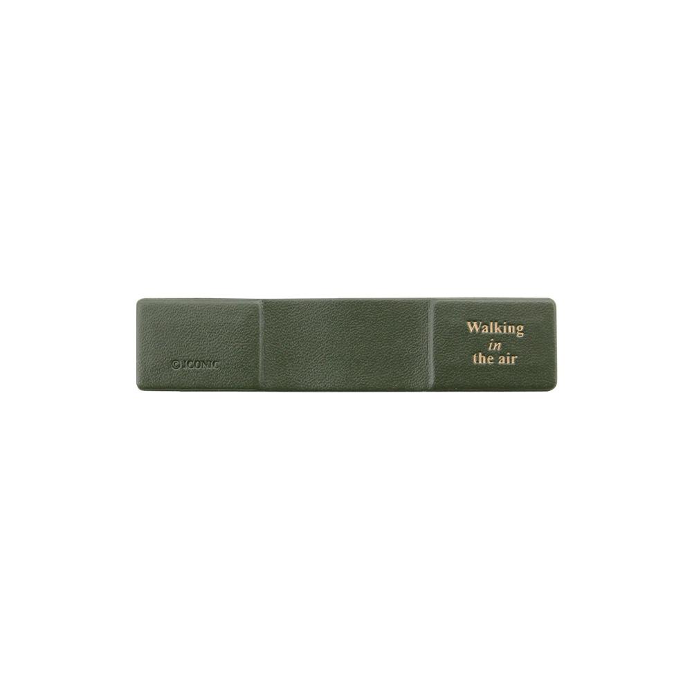 FUNZAKKA BUBBLE GUM皮革磁吸集線器-草地綠
