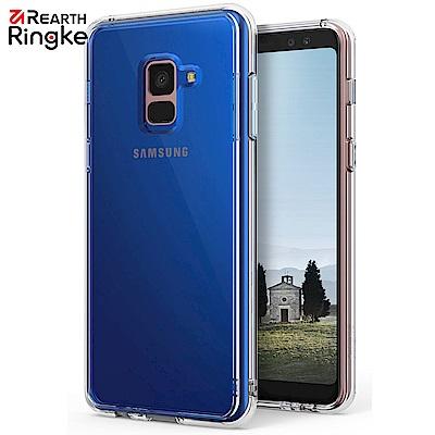 RINGKE 三星 Galaxy A8+ (2018) Fusion 透明背蓋手...