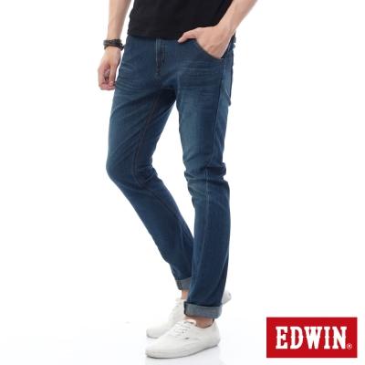 EDWIN 迦績褲JERSEYS X E-FUNCTION牛仔褲-男-石洗綠