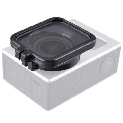 GoPro HERO 4 3 3副廠方型鏡頭防曝保護鏡保護框防護罩