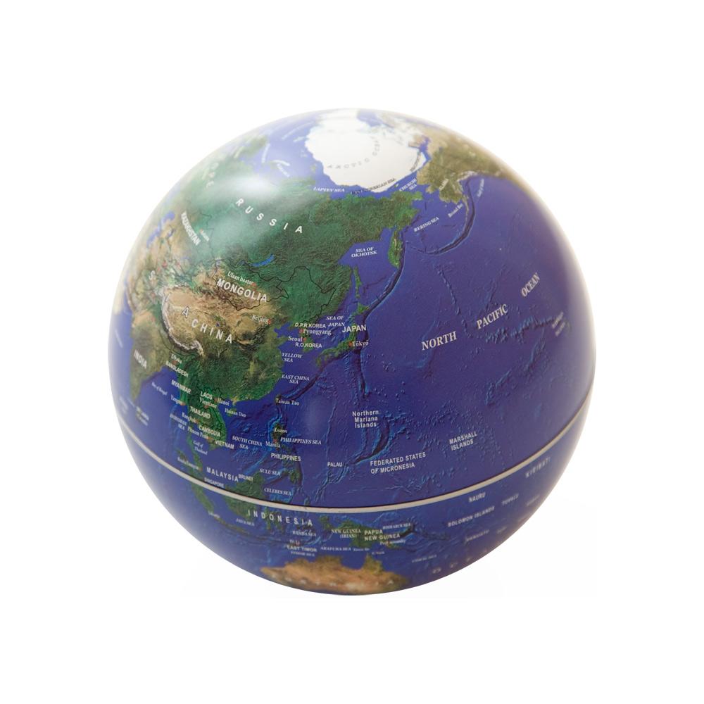 賽先生科學 自轉地球儀-地球藍