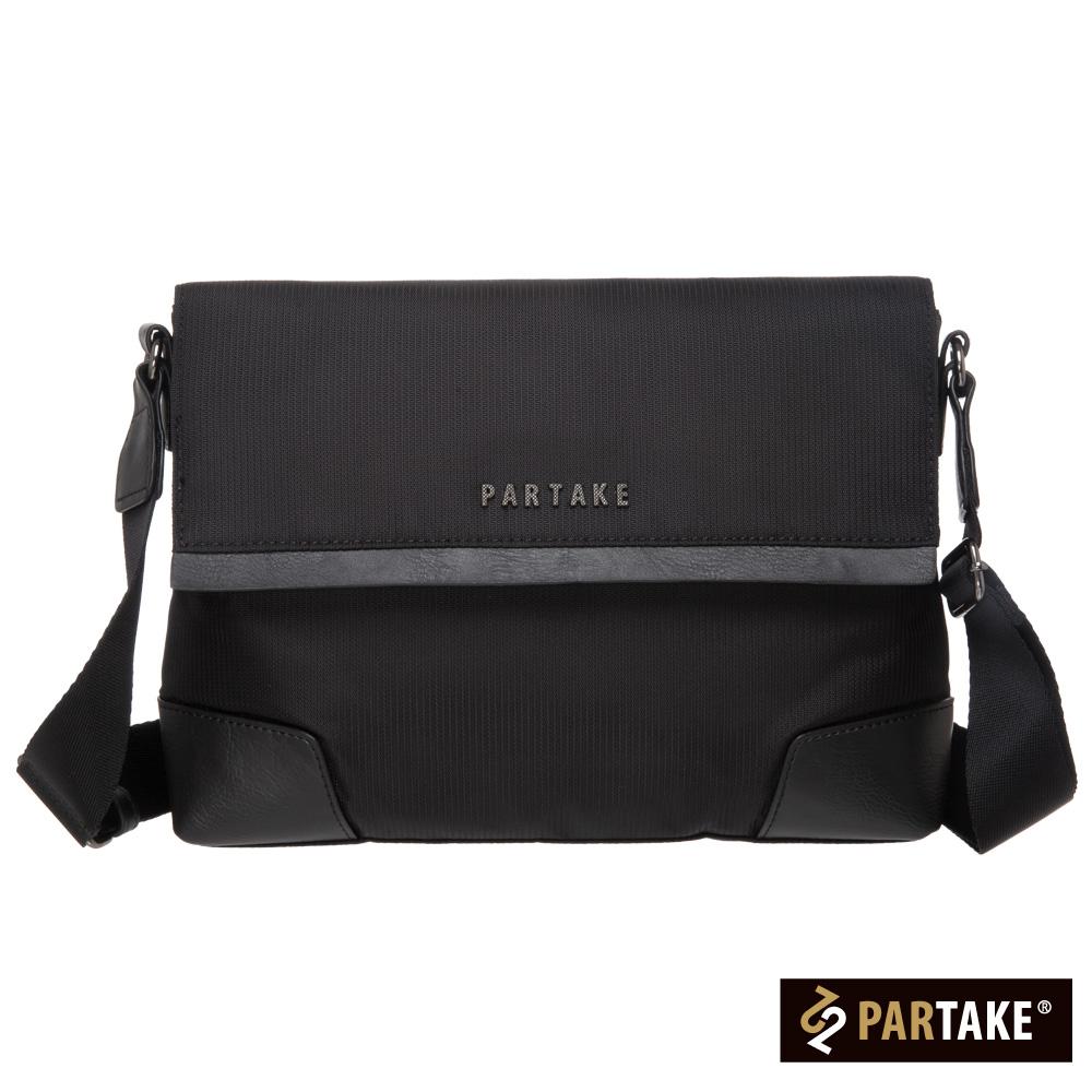 PARTAKE A9系列-橫式側背包-黑PT15-A9-61BK