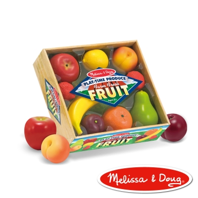 美國瑪莉莎 Melissa & Doug 玩食趣 – 好吃水果組