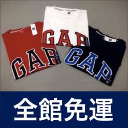 GAP車繡LOGO短袖T恤