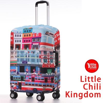 LittleChili行李箱套524-曼谷彩M