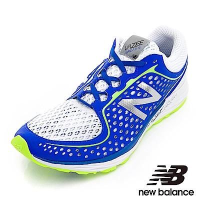 New Balance輕量跑鞋MBREAHT-2E男藍