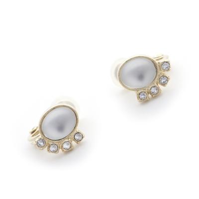 JewCas Air Earrings系列施華洛施奇水晶復古耳夾_JC2440