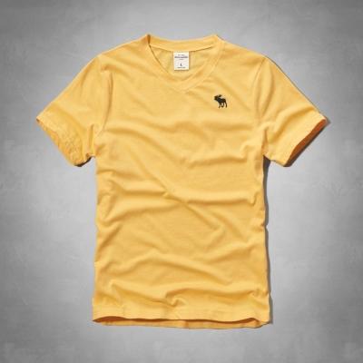 AF a&f Abercrombie & Fitch 小孩 T恤 黃色 0030
