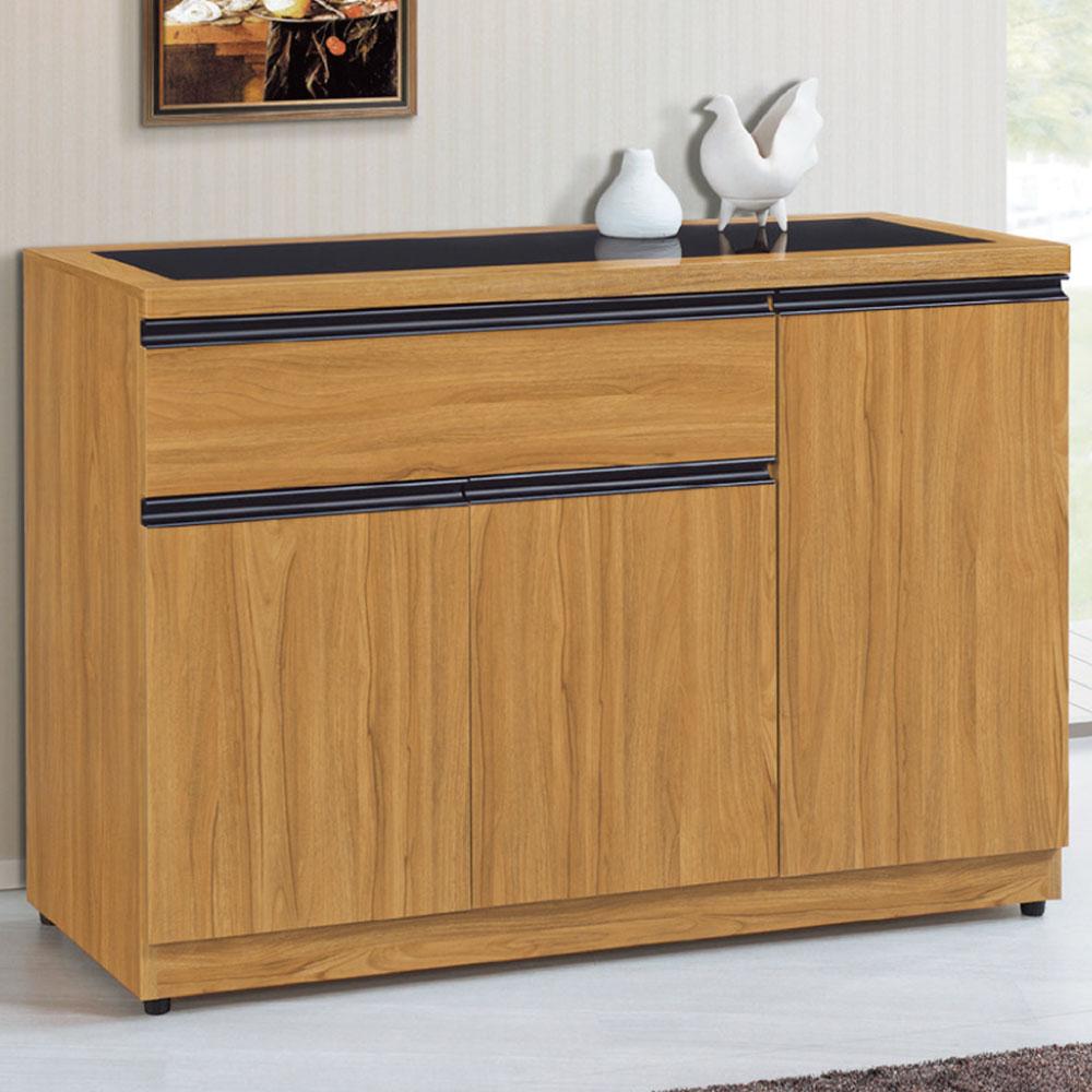 品家居 塔德3.8尺收納餐櫃下座-114.2x40.6x82.4cm-免組
