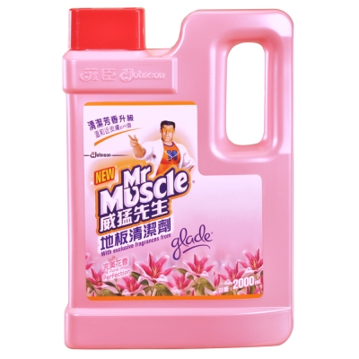 威猛地板清潔劑完美花香2000ml