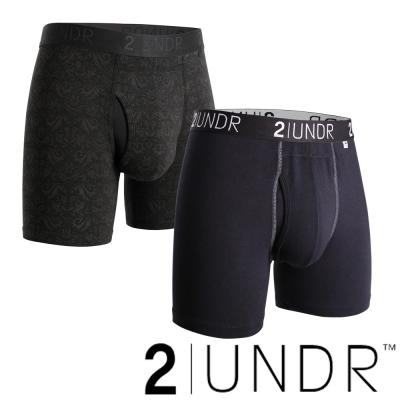 2UNDR Swing Shift四角男內褲(6吋)-BRO