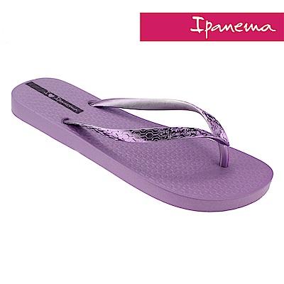 IPANEMA 經典炫彩夾腳拖-紫色