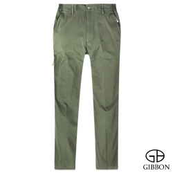 GIBBON 防曬超輕薄彈力鬆緊長褲‧灰綠M~3L