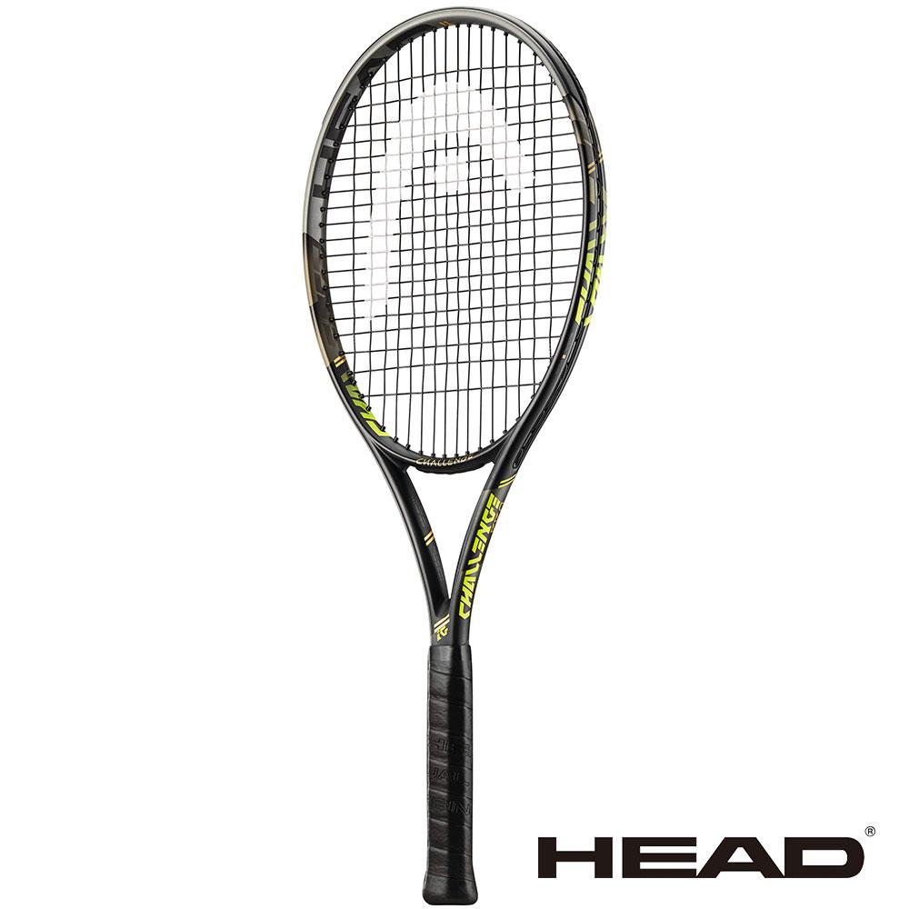 HEAD Challenge Pro 295g 全碳 進階網球拍-黃 232417