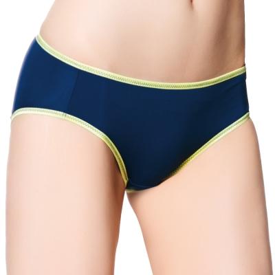 思薇爾-城市律動系列M-XXL低腰內褲-陶瓷藍