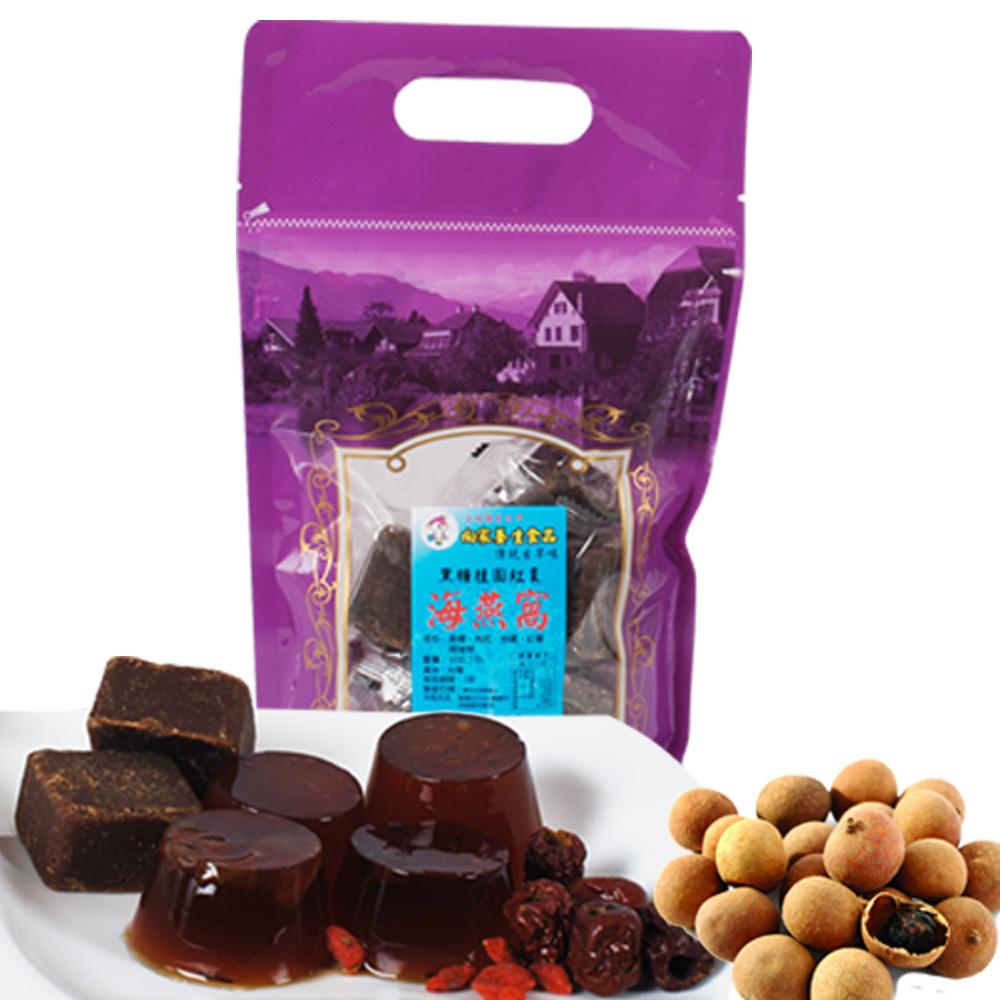 向家養生食品 頂級黑糖桂圓紅棗海燕窩 500g/2包入