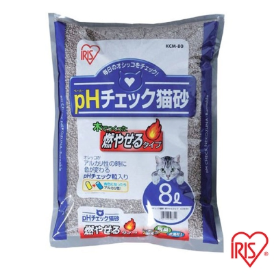 日本IRIS 健康檢查 尿道結石專用貓砂 8L (KCM-80)