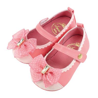 Swan天鵝童鞋-甜美小公主學步鞋  1470  粉
