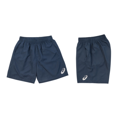 ASICS 男女平織運動短褲 K31602-50