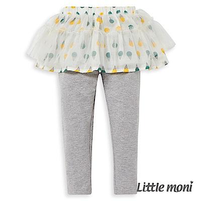 Little moni 冰淇淋荷葉網紗褲裙 (2色可選)