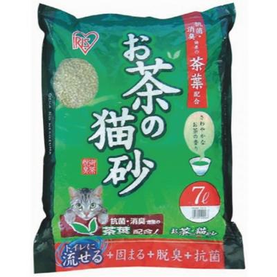 IRIS OCN-70綠茶貓砂7L