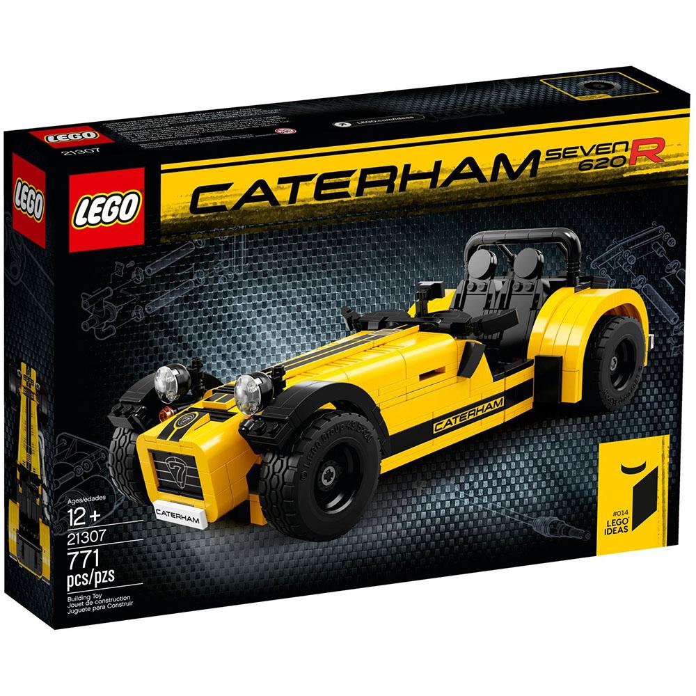 LEGO樂高 IDEAS系列 21307 卡特漢姆Seven 620R組裝車 #014