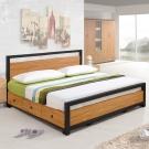 Homelike 黑森林床架組-雙人加大6尺(不含床墊)